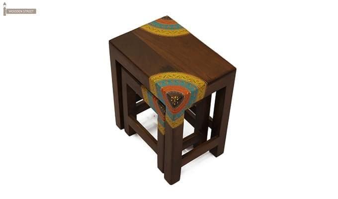 Kline Nest Of Tables (Mahogany Finish)-3