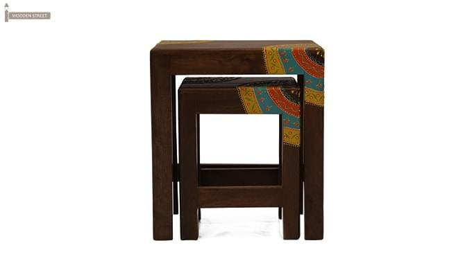Kline Nest Of Tables (Mahogany Finish)-5