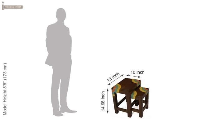 Kline Nest Of Tables (Mahogany Finish)-6