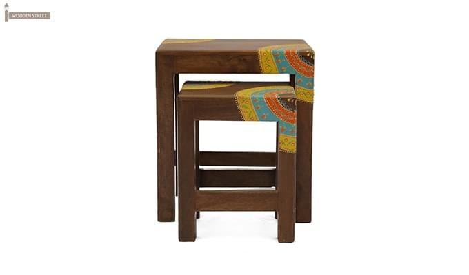 Kline Nest Of Tables (Teak Finish)-4