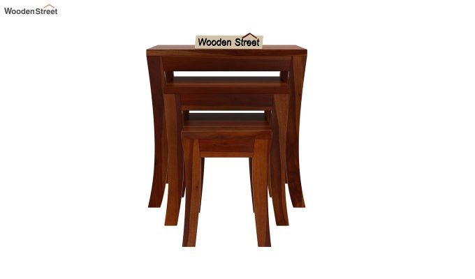 Lemna Nest Of Tables (Honey Finish)-3