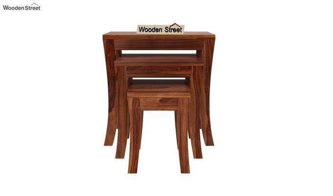 Lemna Nest Of Tables (Teak Finish)-3