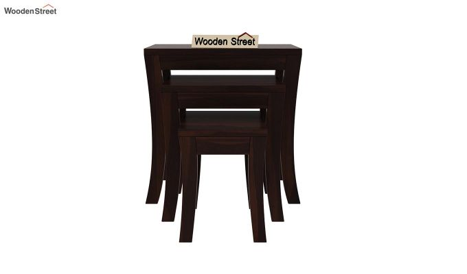 Lemna Nest Of Tables (Walnut Finish)-3