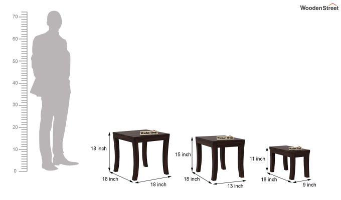 Lemna Nest Of Tables (Walnut Finish)-8