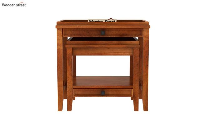 Lohana Nest of Tables (Honey Finish)-3