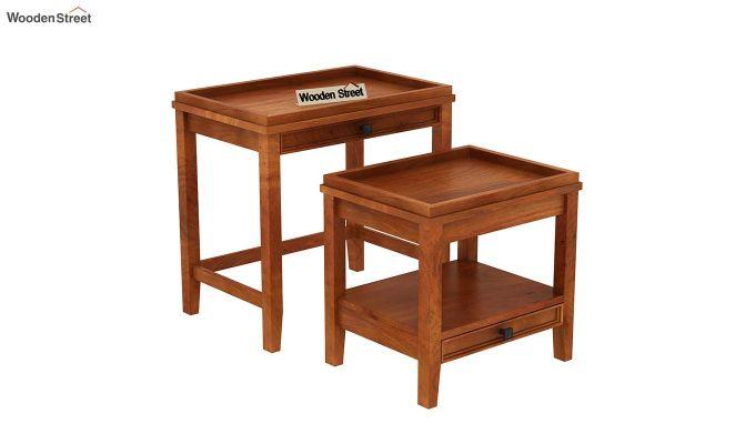 Lohana Nest of Tables (Honey Finish)-5