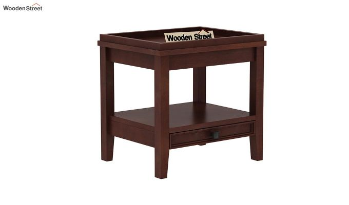 Lohana Nest of Tables (Walnut Finish)-7