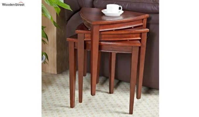 Mason Nest of Tables (Honey Finish)-1