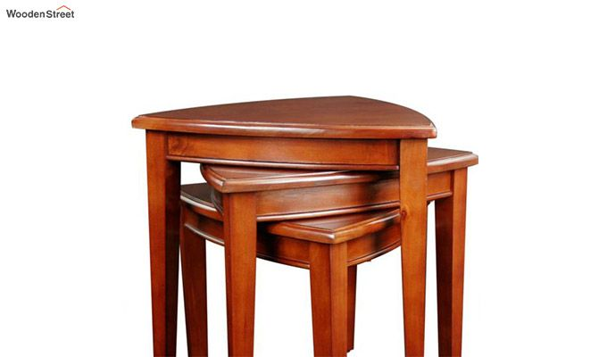 Mason Nest of Tables (Honey Finish)-5