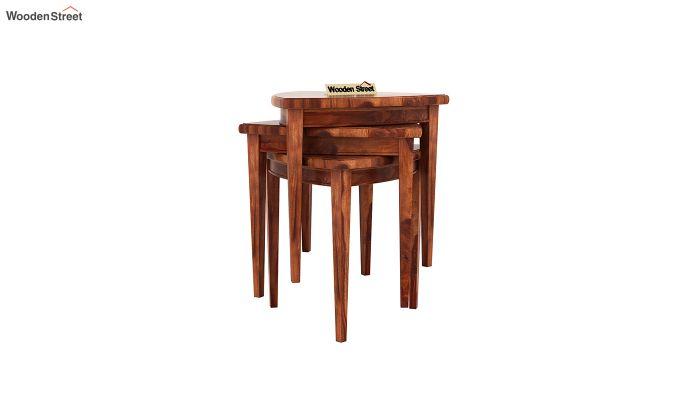 Mason Nest of Tables (Honey Finish)-5