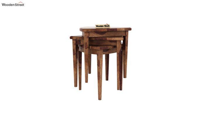 Mason Nest of Tables (Teak Finish)-3