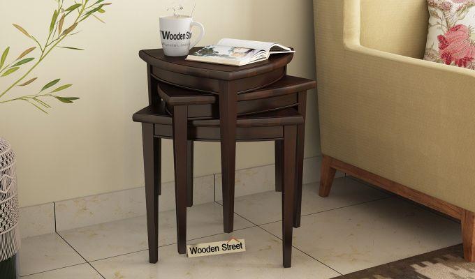 Mason Nest of Tables (Walnut Finish)-1