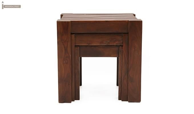 Massimo Nest Of Tables (Teak Finish)-3