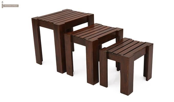 Massimo Nest of Tables (Mahogany Finish)-2
