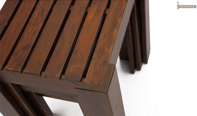 Massimo Nest of Tables (Mahogany Finish)-5