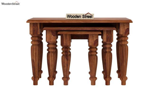 Mccoy Nest Of Tables (Teak Finish)-3