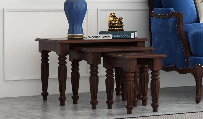 Mccoy Nest Of Tables (Walnut Finish)-1
