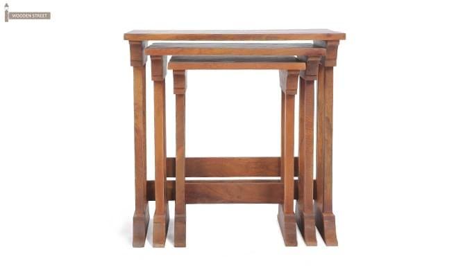 Ricky Nest Of Tables (Teak Finish)-2