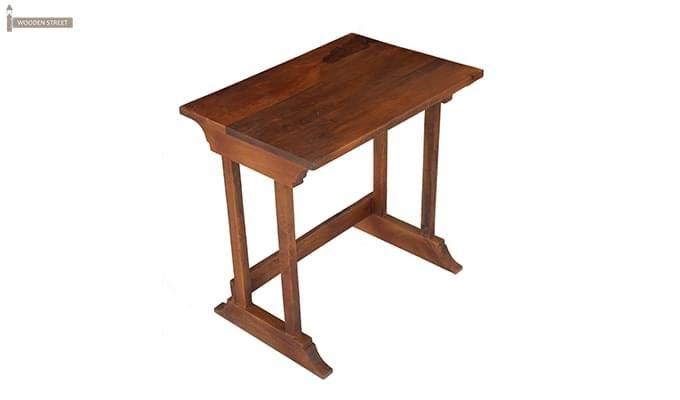 Ricky Nest Of Tables (Teak Finish)-4