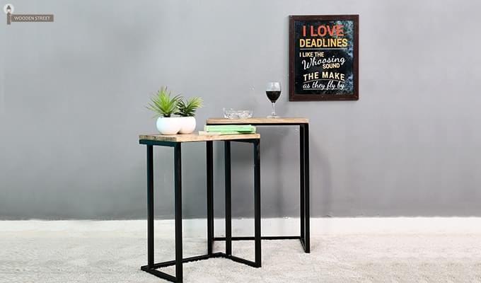 Samson Nest Of Table (Black Color)-1