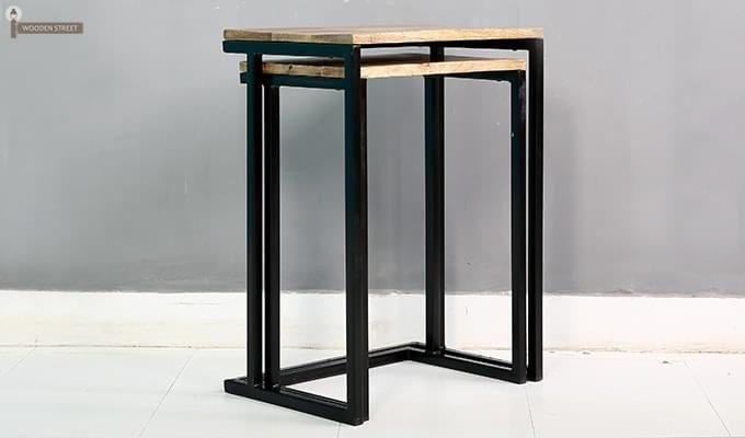 Samson Nest Of Table (Black Color)-2