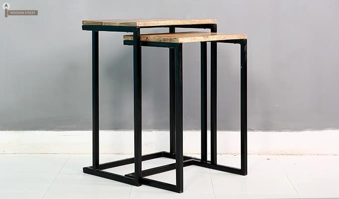Samson Nest Of Table (Black Color)-3