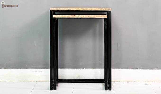 Samson Nest Of Table (Black Color)-4