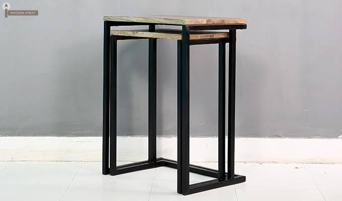 Samson Nest Of Table (Black Color)-5