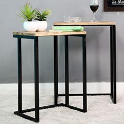 Samson Nest Of Table (Black Color)