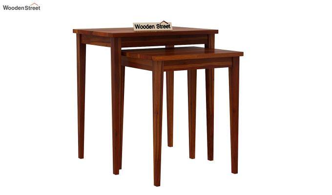 Shelagh Nest of Tables (Honey Finish)-2