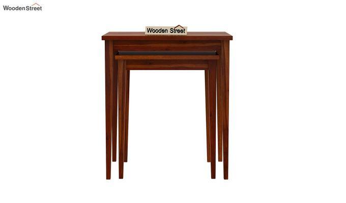 Shelagh Nest of Tables (Honey Finish)-5