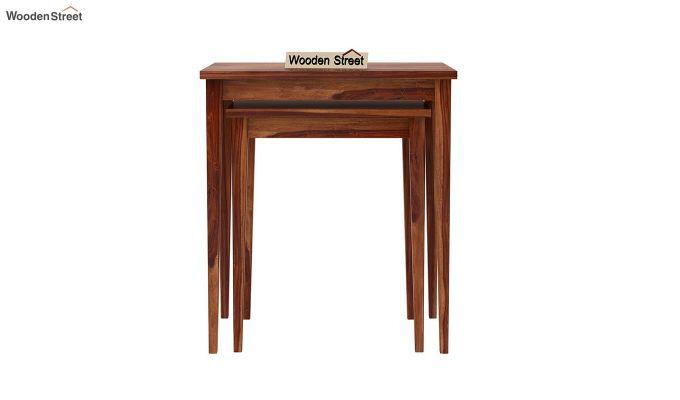 Shelagh Nest of Tables (Teak Finish)-5