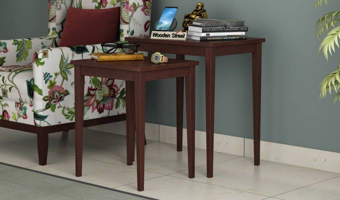 Shelagh Nest of Tables (Walnut Finish)-1