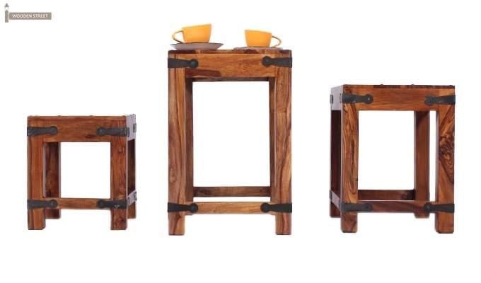 Sweetfall Nest Of Tables (Honey Finish)-3