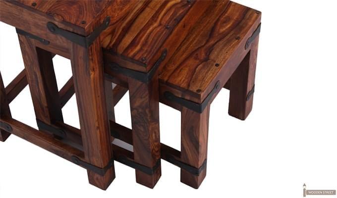 Sweetfall Nest Of Tables (Honey Finish)-4