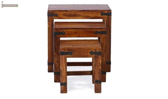 Sweetfall Nest Of Tables (Honey Finish)-7