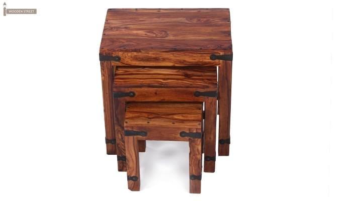 Sweetfall Nest Of Tables (Honey Finish)-8