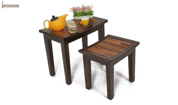 Toohey Table Sets (Mahogany Finish)-1