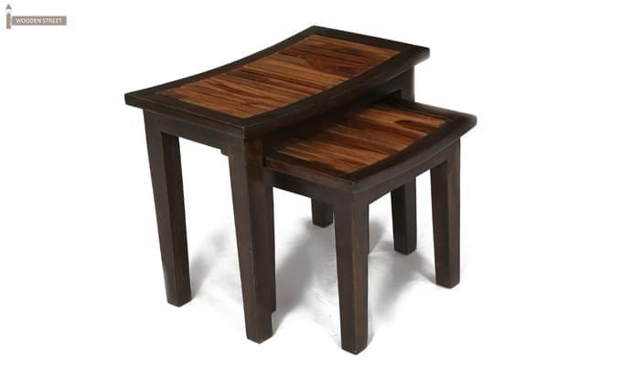 Toohey Table Sets (Mahogany Finish)-3
