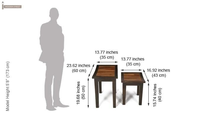 Toohey Table Sets (Mahogany Finish)-9