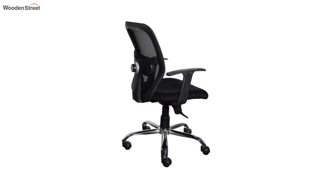 Correa Mid Back Black Ergonomic Office Chair-3