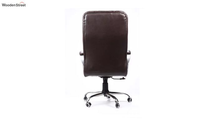 Fairbank Clantra Leatherette High Back Brown Executive Chair-3