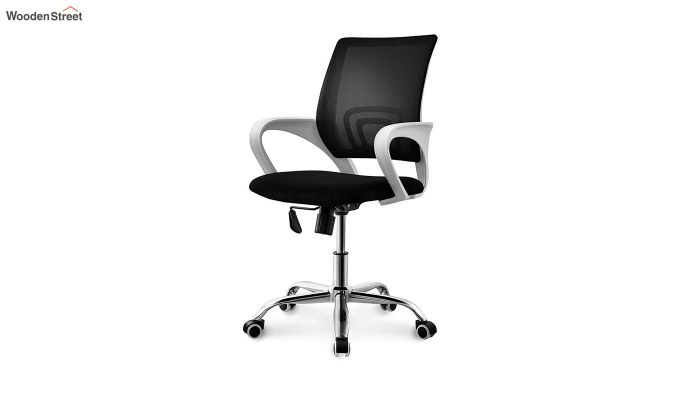 Terra Black Mesh Revolving Office Chair-1