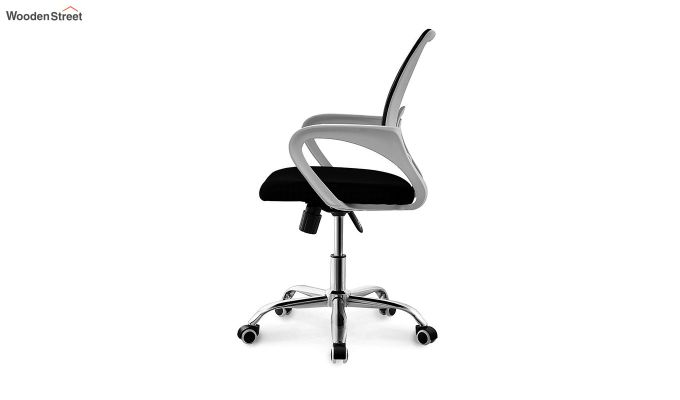 Terra Black Mesh Revolving Office Chair-2