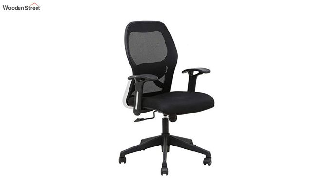 Eric Mid Back Black Ergonomic Office Chair-3