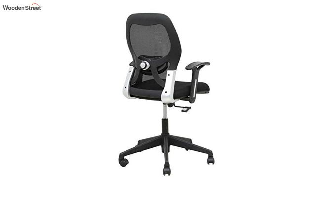 Eric Mid Back Black Ergonomic Office Chair-6