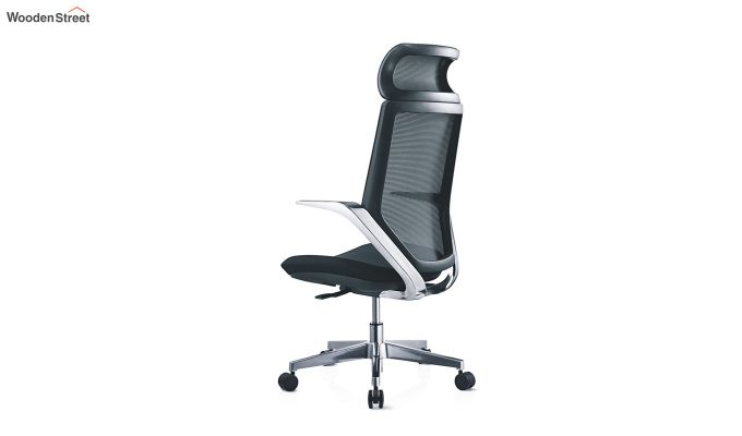 High Back Office Mesh Chair (Black)-2