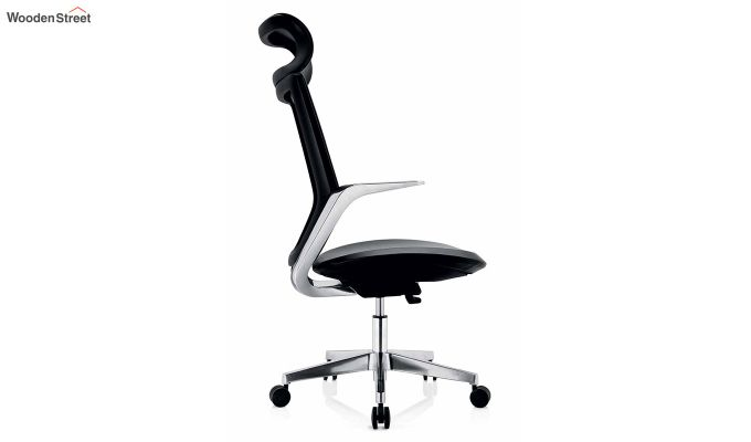 High Back Office Mesh Chair (Black)-3