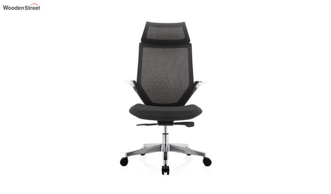 High Back Office Mesh Chair (Black)-5
