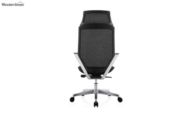 High Back Office Mesh Chair (Black)-6